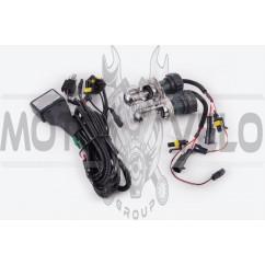 Лампы биксеноновые (пара) H4 (12V 35W DC AMP) 5000K HNG