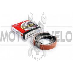 Колодки тормозные (барабан) 4T GY6 50-150 (13 колесо) PITON