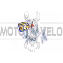 Болты крышки вариатора Yamaha (крестообразный шлиц, 11шт) AS