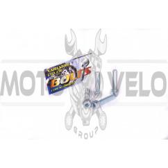 Болты крышки вариатора Suzuki LETS (шестигранный шлиц, 4шт) AS
