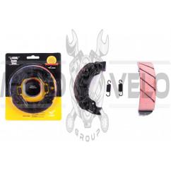 Колодки тормозные (барабан) 4T GY6 50-150 (10/12 колесо) (champion) LAONIU