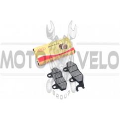 Колодки тормозные (диск) 4T GY6 50-150 (ухо влево) DRY
