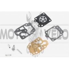 Ремкомплект карбюратора мотокосы Mitsubishi TL26/33 (полный)