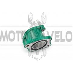 Патрубок карбюратора (коллектор) 4T CB 125/150 (зеленый) NJK