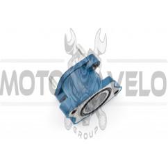 """Патрубок карбюратора (коллектор) 4T CB 125/150 (синий) """"NJK"""""""