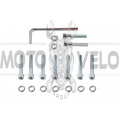 Болты крышки вариатора 4T GY6 50 (12 колесо) (шестигранный шлиц, 9шт +ключ) SHUK