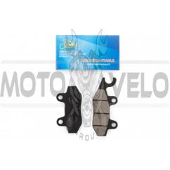 Колодки тормозные (диск) 4T GY6 50-150 (ухо влево) KOMATCU