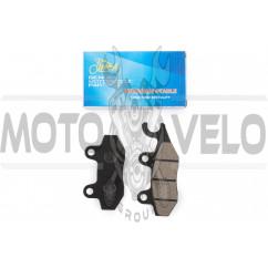 Колодки тормозные (диск) 4T GY6 50-150 (ухо вправо) KOMATCU
