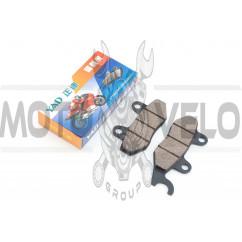 Колодки тормозные (диск) 4T GY6 50-150 (ухо вправо) YAD