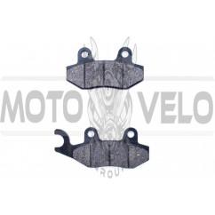 Колодки тормозные (диск) 4T GY6 50-150 (ухо влево) MANLE