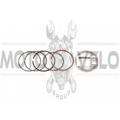 Кольца 4T GY6 125 0,25 (Ø52,65) KOSO