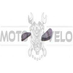 Шпонка МТ, ДНЕПР, УРАЛ, К-750 (сегментная, коленвала, пара, б+м) JING (mod.A)
