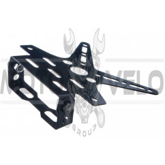 Рамка для крепления номера и поворотников с регулируемым углом наклона    (черная)   KOMATCU   (mod.A), шт