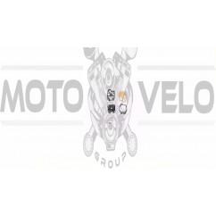 Ремкомплект карбюратора мотокосы   Mitsubishi TU26   (полный)   WOODMAN   (mod.A)