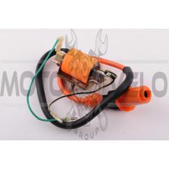 Катушка зажигания (тюнинг) Delta (оранжевая) STAGE-9