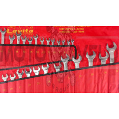 Набор комбинированых ключей в сумке   25шт   (6-32mm)   LAVITA, шт