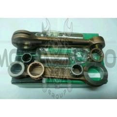 Шатун   ЯВА 350   (пара) (+сепараторы, нижний палец, шайбы)   (зелен. уп-ка.)   (Индия)   VCH
