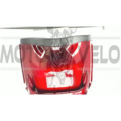 Кофр   Мерседес   (красный) (+шлем)   EVO