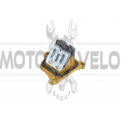 Лепестковый клапан Honda DIO AF34/35 (3 болта) STEEL MARK