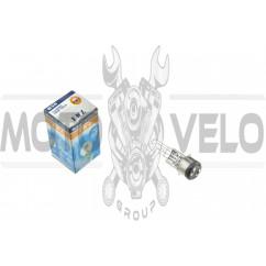Лампа BA20D (2 уса)   12V 18W/18W   (белая)   YWL, шт