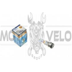 Лампа BA20D (2 уса)   12V 18W/18W   (хамелеон розовый)   YWL, шт