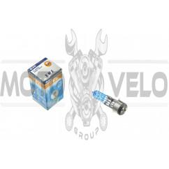 Лампа BA20D (2 уса)   12V 35W/35W   (супер белая)   YWL, шт