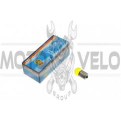 Лампа G18 (поворот, габарит)   12V 10W   (желтая)   YWL
