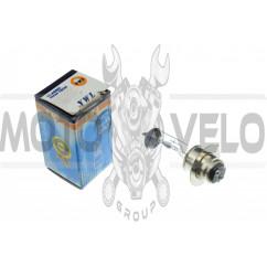 Лампа P15D-25-1 (1 ус)   12V 18W/18W   (белая)   (B-head)   YWL    (mod:A), шт