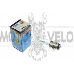 Лампа P15D-25-1 (1 ус)   12V 50W/50W   (хамелеон радужный)   YWL, шт
