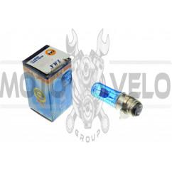 Лампа P15D-25-3 (3 уса)   12V 18W/18W   (супер белая)   YWL, шт