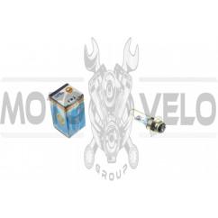 Лампа P15D-25-3 (3 уса)   12V 18W/18W   (хамелеон радужный)   YWL, шт