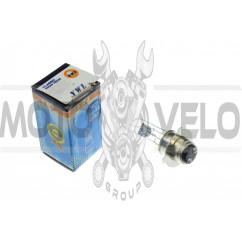 Лампа P15D-25-3 (3 уса)   12V 50W/50W   (белая)   YWL, шт