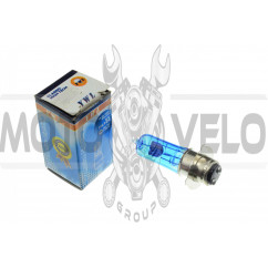 Лампа P15D-25-3 (3 уса)   12V 50W/50W   (супер белая)   YWL, шт