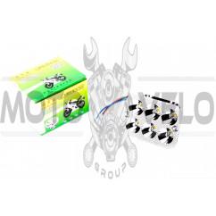 """Модуль светодиодный (12W, 5 диодов, RGB-подсветка, 90*66mm) """"YWL"""""""