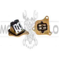 Лепестковый клапан Honda DIO AF34/35 (3 болта) ZUNA