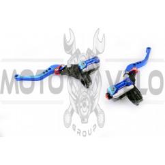 Машинки тормозные (ГТЦ) универсальные (комплект, радиальные, тюнинг) (mod:1, синие) RIDE IT