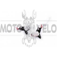 Машинки тормозные (ГТЦ) универсальные (комплект, радиальные, тюнинг) (mod:1, серебро) RIDE IT