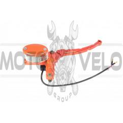 Машинка тормозная  (ГТЦ)   4T GY6 50/150   (правая, тюнинг)   (оранжевая)   GRBD