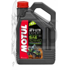Масло   4T, 4л   (полусинтетика, 10W-40, ATV-UTV, API SM/SL/SJ)   MOTUL   (#105939), шт