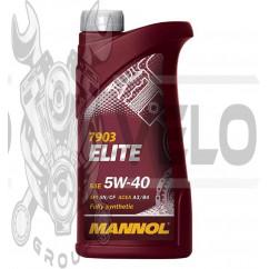 Масло   4T, 1л   (SAE 5W-40, синтетика, Elite 5W-40 API SN/CF)   MANNOL, шт