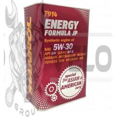 Масло   4T, 4л   ж/б   (SAE 5W-30, синтетика, Energy Formula JP API SL)   MANNOL, шт