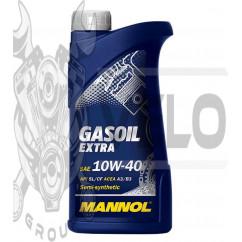 Масло   4T, 1л   (SAE 10W-40, полусинтетика, Gasoil Extra API SL/CF)   MANNOL, шт