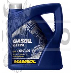 Масло   4T, 4л   (SAE 10W-40, полусинтетика, Gasoil Extra API SL/CF)   MANNOL, шт