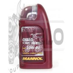 Масло   4T, 1л   (SAE 10W-40, синтетика, 7807 Quad 4-Takt Racing API SL/CF)   MANNOL
