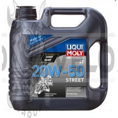 Масло   4T, 4л   (минеральное, 20W-50, STREET)   LIQUI MOLY   #1696