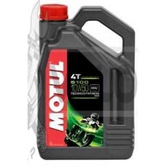 Масло   4T, 4л   (полусинтетика, 10W-50, 5100, API SL/SJ/SH/SG)   MOTUL   (#104076)