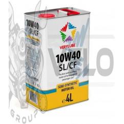 Масло   4T, 4л   (полусинтетика, 10W-40 SL/CF)   VERYLUBE   (20268)   (#ХАДО)