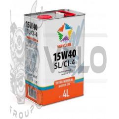 Масло   4T, 4л   (минеральное, 15W-40 SL/CI-4)   VERYLUBE   (20255)   (#ХАДО)