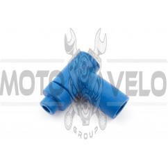 Насвечник 90*, Т- образный (синий) NJK