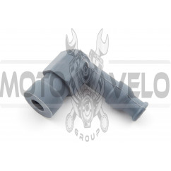 Насвечник (тюнинг) 90*, Г- образный (серый) NJK